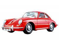 Автомодель - PORSCHE 356B (1961) (ассорти слоновая кость, красный, 1:24) (18-22079), фото 1