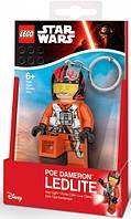 Брелок-фонарик LEGO По Дамерон Звездные войны, IQ (LGL-KE95)