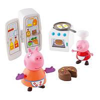 Игровой мини-набор Peppa, Кухня Пеппы (кухонная техника, 2 фигурки)