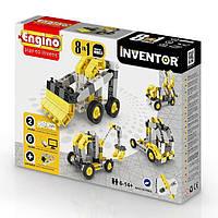 Конструктор серии Inventor 8 в 1 Строительная техника