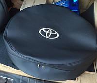 Чехол запасного колеса любой радиус (нейлон либо экокожа) с Вашим логотипом