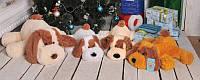 Плюшевая игрушка Собачка Шарик 110 см, Медовый