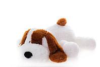 Плюшевая игрушка Собачка Шарик 110 см, Белый