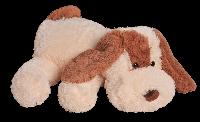 Плюшевая игрушка Собачка Шарик 110 см, Персиковый