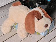 Плюшевая игрушка Собачка Шарик 75 см, Персиковый