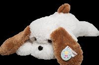 Мягкая игрушка Собака Тузик 100 см, Белый