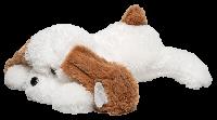 Мягкая игрушка Собака Тузик 65 см, Белый