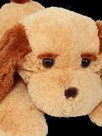 Мягкая игрушка Собака Тузик  65 см, Медовый