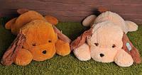 Мягкая игрушка Собака Тузик  65 см, Персиковый