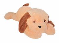 Мягкая игрушка Собака Тузик 53 см Персиковый