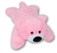 Плюшевый Мишка Умка  55 см, розовый