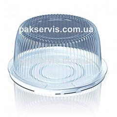 Упаковка для торта ПС-24 (1-1,5кг) крышка+дно (3500мл) 1/200