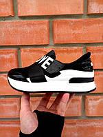 Кроссовки на платформе LOVE черный