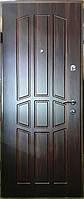 Входная дверь модель П4-349 темный орех