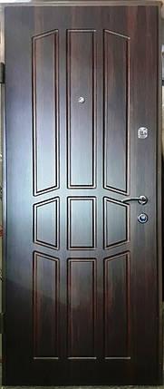 Входная дверь модель П4-349 темный орех, фото 2