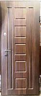 Входная дверь модель П4-91 дуб табак / дуб глазго