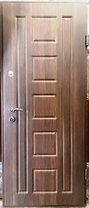 Входная дверь модель П4-91 дуб табак / дуб глазго, фото 2