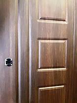 Входная дверь модель П4-91 дуб табак / дуб глазго, фото 3