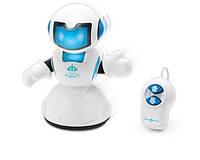 Робот-киборг синий с пультом