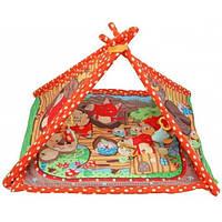 Детский развивающий коврик Сказка