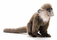 Обезьянка Leaf monkey 18 см коричневая, мягкая игрушка Hansa