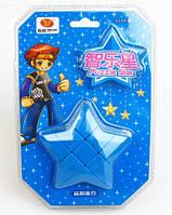 Игрушка-головоломка Звезда Puzzle Star 3x3 синяя, YJ (YJZLX01)