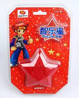 Игрушка-головоломка Звезда Puzzle Star 3x3 красная, YJ (YJZLX02)