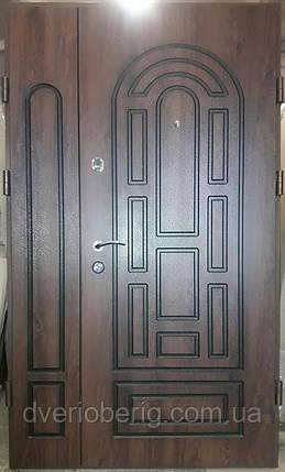 Входная дверь модель 1200 П3-204 vinorit-02 + патина, фото 2
