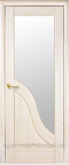 Модель Амата стекло сатин межкомнатные двери, Николаев