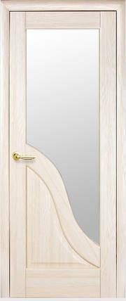 Модель Амата стекло сатин межкомнатные двери, Николаев, фото 2