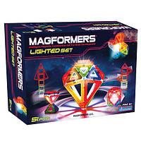 Магнитный конструктор «Набор с ЛЕД подсветкой», 55 элементов Magformers (709001)