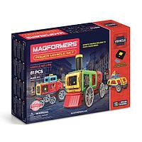 Магнитный конструктор на д/у «Паровые машины», 81 элемент Magformers (707011)