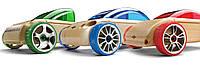 Набор деревянных конструкторов мини машинок T9, S9, C9 mini Automoblox.  (53101)