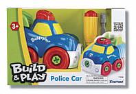 Конструктор Полицейская машина, серии собери и играй, KEENWAY