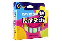 Фломастеры-краски флуорисцентные ( 6 цветов) Brian Clegg.  (LBPS10DA6)