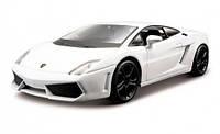 Модель автомобиля Lamborghini Gallardo LP560-4 2008 (белый) 1:32, Bburago (18-43020-1)