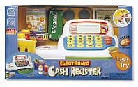 Кассовый аппарат (голубой), игровой набор Супермаркет, KEENWAY