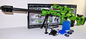 Автомат AK47-8 с гелевыми пулями и аккумулятором