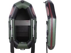 Одноместная надувная ПВХ лодка Vulkan V190 LSP(ps)