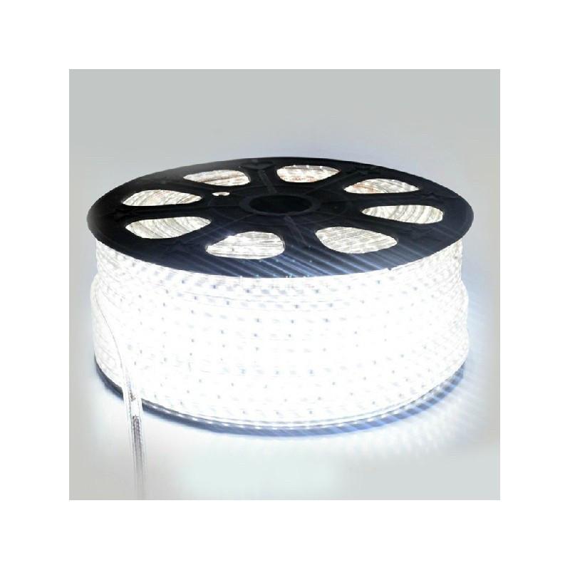 Светодиодная лента smd 5730-72 220В IP68 белая
