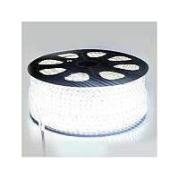 Светодиодная лента smd 5730-72 220В IP68 белая Premium