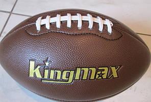 Мяч для американского футбола KINGMAX (PU, р-р 6in, коричневый)