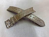 Ремешок из Морской Змеи  для часов De Grisogono