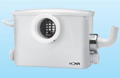 Каналізаційні установки HOMA з ємностями-збірниками (G=2,5-25 м3/год)
