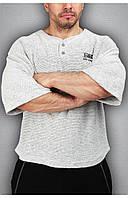 Чоловіча футболка світло сіра