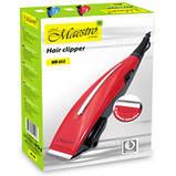 Машинка для стрижки волосся Maestro MR-652C, фото 5