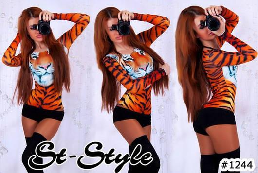 Боди тигр 17