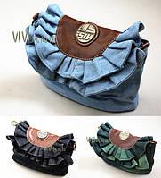 Модный джинсовый сумка-клатч от Miss Sixty