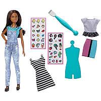 Barbie Кукла Эмодзи Брюнетка / Barbie D.I.Y. Emoji Style