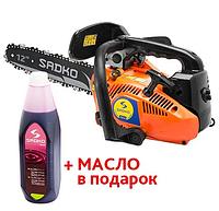 Бензопила цепная Sadko GCS 254 (1.2 кВт / 0,9 л.с.) Бесплатная доставка!